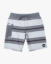 "0 UNCIVIL STRIPED 20"" TRUNK Grey M1161RUS RVCA"