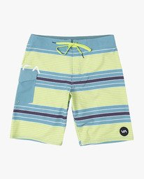 "0 UNCIVIL STRIPED 20"" TRUNK Blue M1161RUS RVCA"
