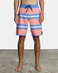 "0 UNCIVIL STRIPED 20"" TRUNK Pink M1161RUS RVCA"