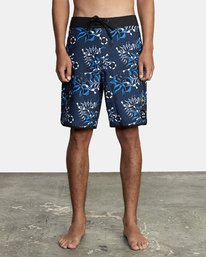 0 TROPICAL DMOTE TRUNK Blue M1262RTD RVCA