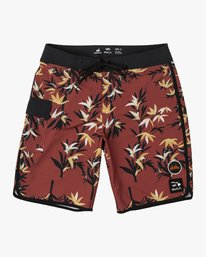 "0 Bamboozled Floral 20"" Trunk Brown M127WRBT RVCA"