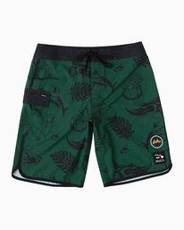 "0 Alex Matus Aloha 20"" Boardshort Green M150TRMA RVCA"