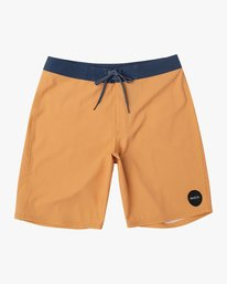 "0 VA Solid 19"" Boardshort Orange M154TRVA RVCA"