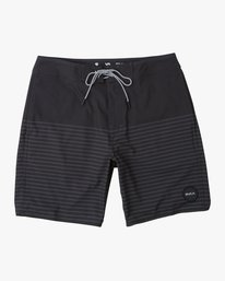 "0 Curren Caples 18"" Boardshort Black M163TRCU RVCA"