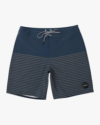 "0 Curren Caples 18"" Boardshort Blue M163TRCU RVCA"
