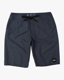 "0 Upper 20"" Boardshort Blue M166TRUP RVCA"