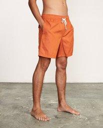 "7 Tom Gerrard Elastic 17"" Trunk Orange M170TRGE RVCA"