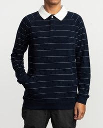 0 FIRST DATE POLO Blue M1KTNCRVW8 RVCA