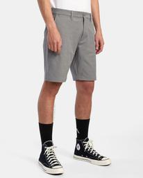 """5 Back In Hybrid Shorts 19"""" Grey M200QRBA RVCA"""