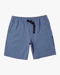 "0 All Time Arch II 18"" Hybrid Short Blue M201URAH RVCA"