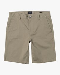 "0 WEEKEND STRETCH 20"" SHORT (40, 42) Beige M202NRWS RVCA"