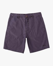 0 Canvas All Time Hybrid Short Blue M202QRCA RVCA