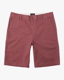 "0 DAGGERS 19"" CHINO SHORT Grey M202TRDC RVCA"