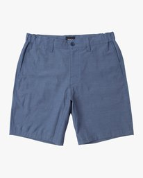 0 All Time Coastal Hybrid Short Blue M206QRCO RVCA