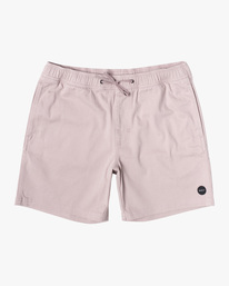 "0 ESCAPE ELASTIC SHORT 17"" Grey M2073REE RVCA"