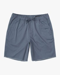 "0 Weekend 19"" Elastic Short Blue M207TRWE RVCA"
