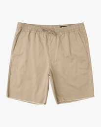"0 Weekend Elastic 19"" Short Green M207TRWE RVCA"