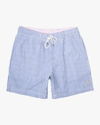 "0 Mother Sucker Elastic 17"" Short Blue M210WRMO RVCA"