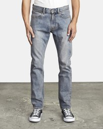 0 DAGGERS SLIM FIT DENIM Blue M3023RDA RVCA
