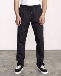 0 Week-End Elastic Pant Black M302TRWE RVCA