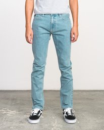 0 Stay RVCA Denim Jeans Blue M303NRST RVCA