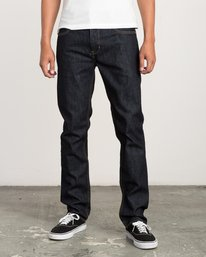 0 Hexed Slim Fit Denim Jeans Blue M304QRHD RVCA