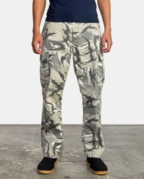 1 CONSCRIPTION RELAXED FIT CARGO PANT Brown M3053RCC RVCA