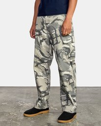 4 CONSCRIPTION RELAXED FIT CARGO PANT Brown M3053RCC RVCA