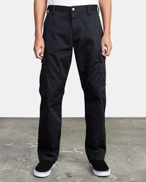 0 CONSCRIPTION RELAXED FIT CARGO PANT Orange M3053RCC RVCA