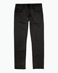 0 Hexed Slim Fit Denim Jeans Grey M305QRHD RVCA