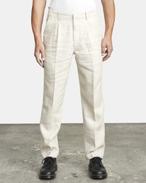 0 ALL TIME LOMAX MODERN STRAIGHT FIT PANT Silver M3063RLO RVCA