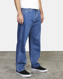 6 Recession | Americana Relaxed Fit Denim Jeans Multicolor M3073RAM RVCA