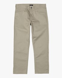 0 NEW DAWN MODERN STRAIGHT FIT PANT Beige M3073RPR RVCA