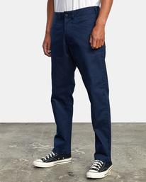 4 NEW DAWN MODERN STRAIGHT FIT PANT Blue M3073RPR RVCA