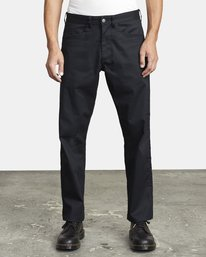 0 NEW DAWN PRESSED PANT Black M3073RPR RVCA