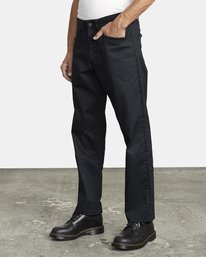 3 NEW DAWN MODERN STRAIGHT FIT PANT Black M3073RPR RVCA