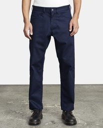 0 NEW DAWN PRESSED PANT Blue M3073RPR RVCA
