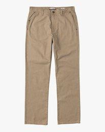 0 Andrew Reynolds Canvas Pant Grey M307QRAR RVCA