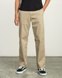 0 Big RVCA Chino Pant White M308QRBR RVCA