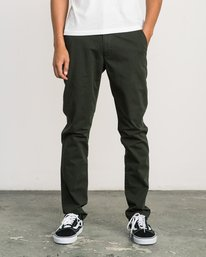 0 Daggers Slim-Straight Chino Pant Camo M309QRDC RVCA