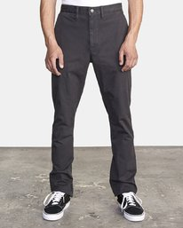 0 DAGGERS SLIM fit PANT Orange M309QRDC RVCA
