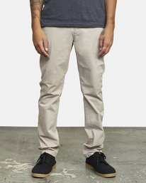 0 DAGGERS SLIM fit PANT Purple M309QRDC RVCA