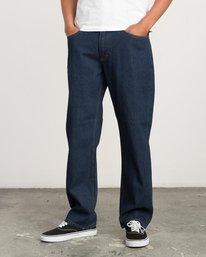 0 Andrew Reynolds Denim Jeans II Blue M310QRAR RVCA