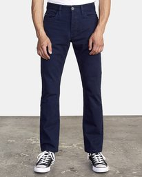 0 Week-End 5-Pocket Pant Blue M310VRWP RVCA