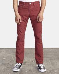 0 Week-End 5-Pocket Pant Red M310VRWP RVCA