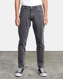 0 DAGGERS SLIM FIT DENIM Grey M3113RDA RVCA