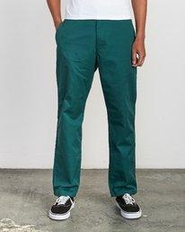 0 Americana Chino Pant Grey M311VRAC RVCA