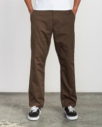 0 Americana Chino Pant Brown M311VRAC RVCA
