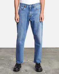 0 NEW DAWN MODERN STRAIGHT FIT DENIM Blue M3123RND RVCA