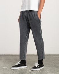 0 Matador Pigment Fleece Sweat Pants Black M312QRMA RVCA